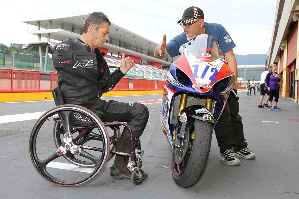 Alan Kempster ha partecipato alla prima gara internazionale DiDi