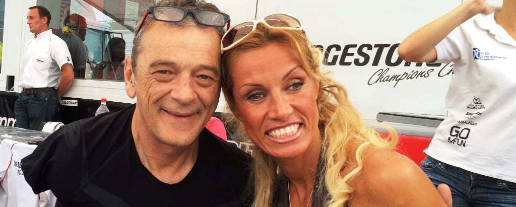 Annalisa Minetti & Alan Kempster al Mugello, DiDi 2014