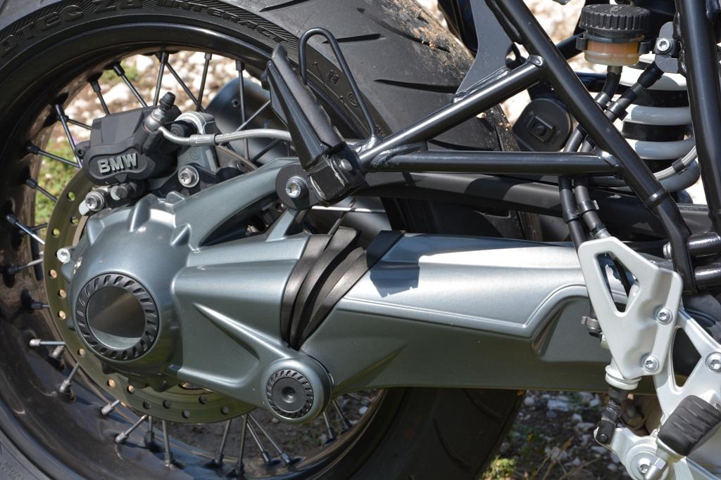 Il Paralever BMW della nineT, il rapporto secondario è stato accorciato