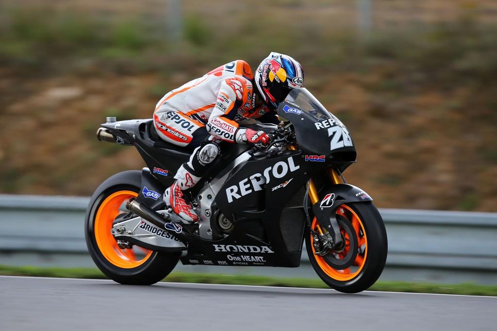 MotoGP 2014: terzo tempo per Pedrosa in sella al prototipo 2015 nei test postgara di Brno