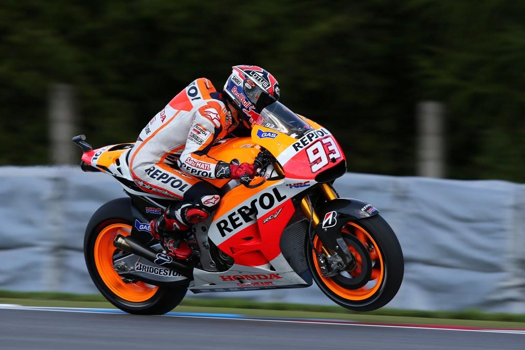 GP della Repubblica Ceca 2014: Marquez quarto al traguardo