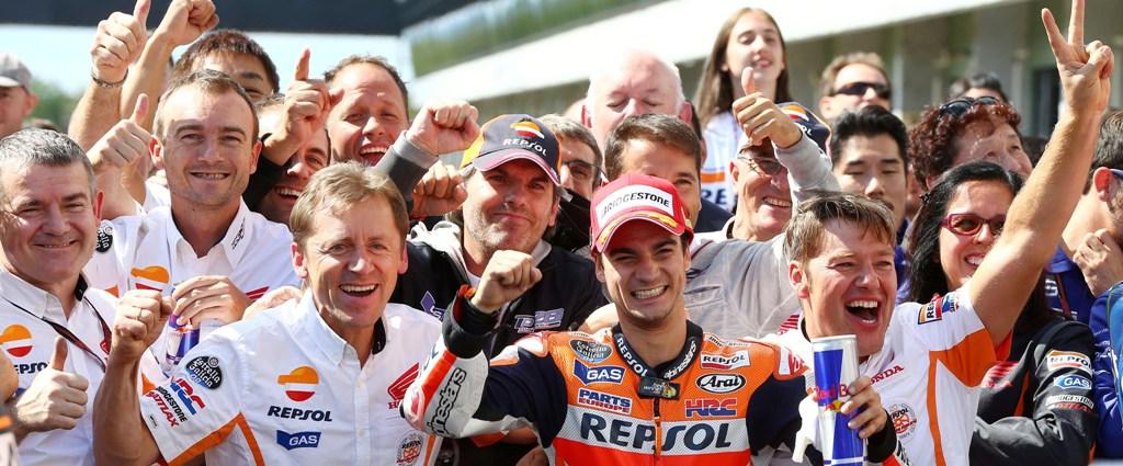 """MotoGP 2014 - Brno: Dani Pedrosa ha spezzato la """"linea"""" di vittorie di Marquez"""