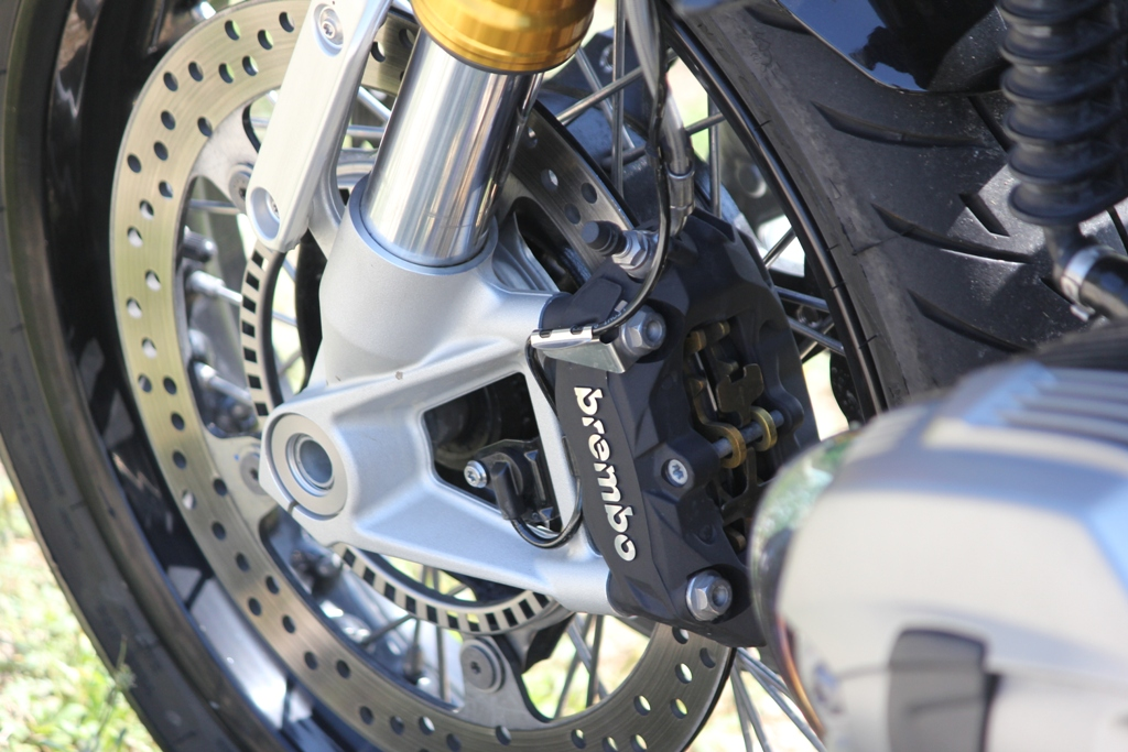 Pinze monoblocco Brembo ad attacco radiale per la nineT BMW