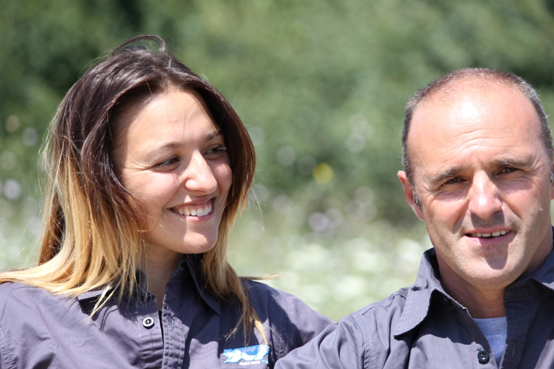 Giulia e Gigi Meattini, ecco YCF Racing