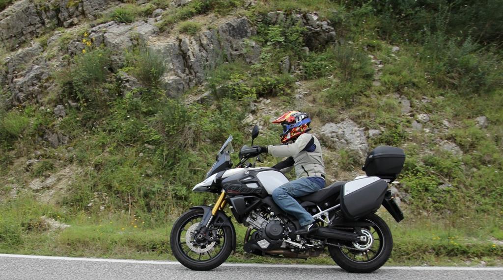 Suzuki V-Strom 1000 ABS: un design aggressivo e concreto
