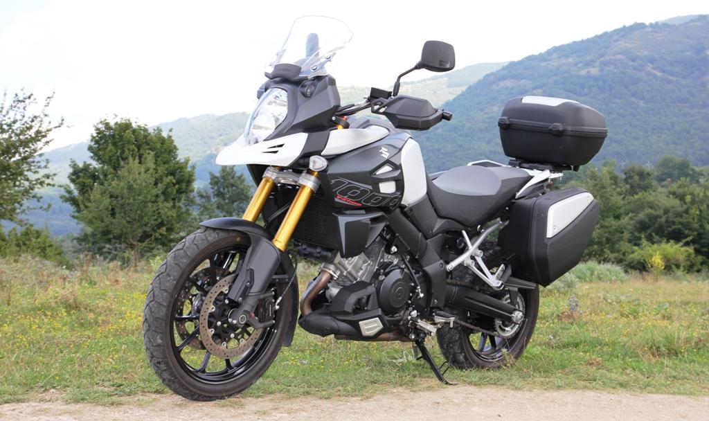 La Suziki V-Strom 1000 ABS, design aggressivo e concetto di funzionalità