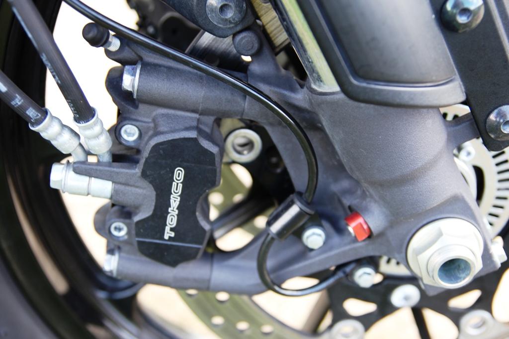 Le pinze Tokico della Suzuki V-Strom 1000 ABS