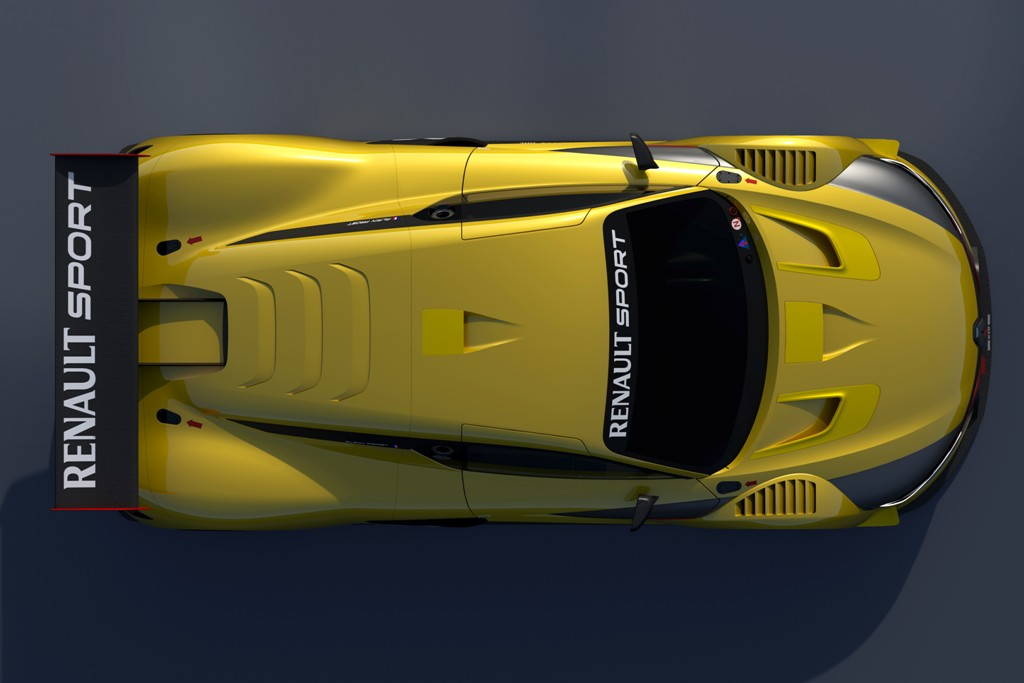 Renaul RS 01 2014: imponente la RS 01 con i suoi 2000 mm di lunghezza