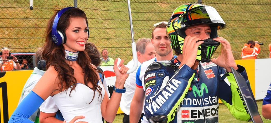 Valentino Rossi a caccia del podio anche a Indy