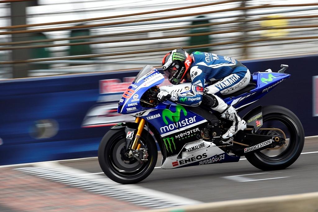 Indianapolis 2014: jorge Lorenzo al traguardo della gara americana