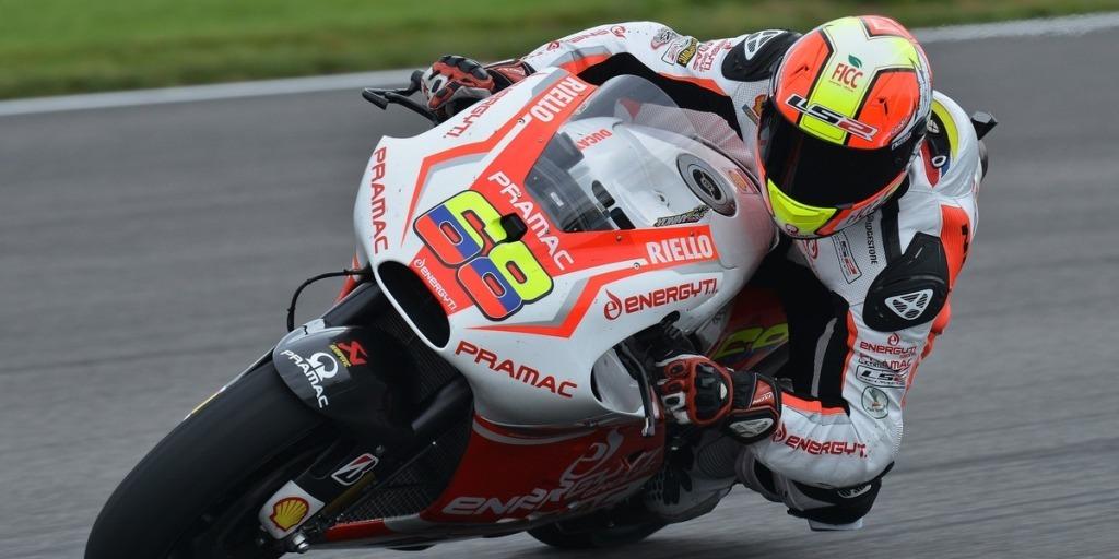 MotoGP 2014, Hernandez Pramac, Indianapolis