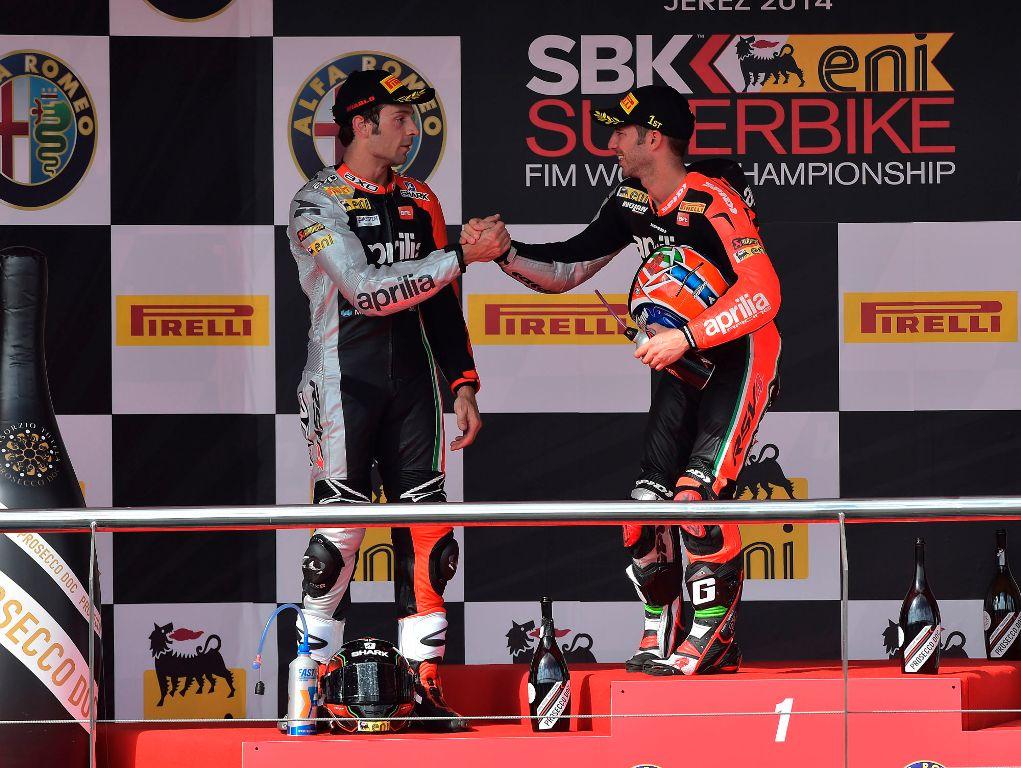 WSBK 2014: doppio podio per un fantastico Marco Melandri