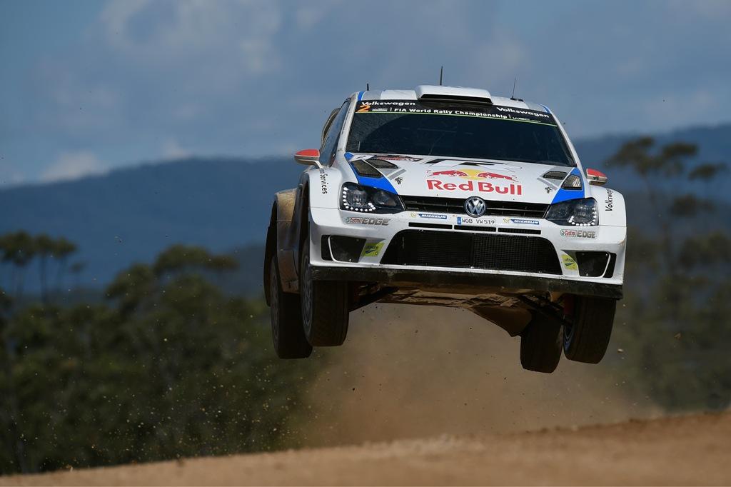 WRC 2104: i lunghi bump australiani per la Polo WRC