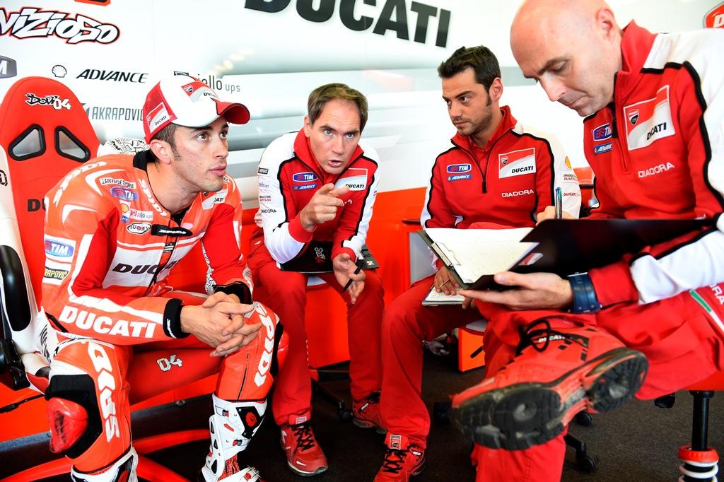 MotoGP 2014: Andrea Dovizioso in crescita in sella alla sua GP14, gara dopo gara