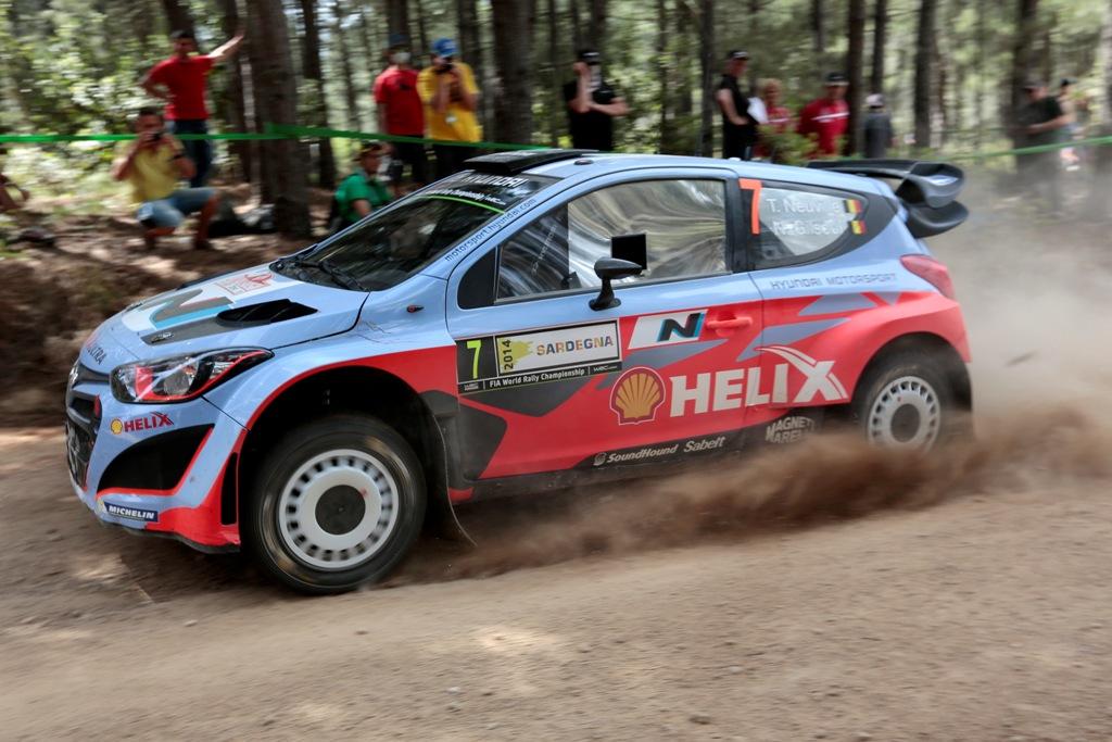 WRC 2014: Neuville in Sardegna