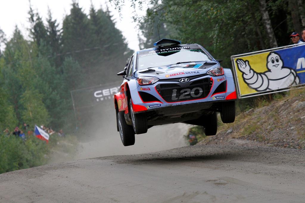 WRC 2014, Hyundai WRC, in Finlandia il primo step evoluzione per la i20