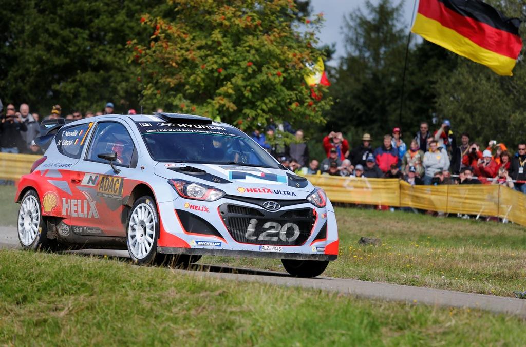 WRC 2014, Neuville verso il traguardo della prima vittoria della i20