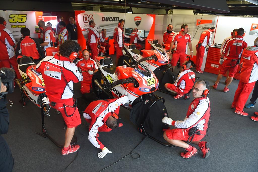 MotoGP 2014: ottimi progressi per Ducati, incoraggianti per la squadra