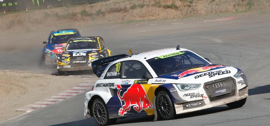 FIA Rallycross 2014: due Audi S1 sul podio di casa nella Supercar