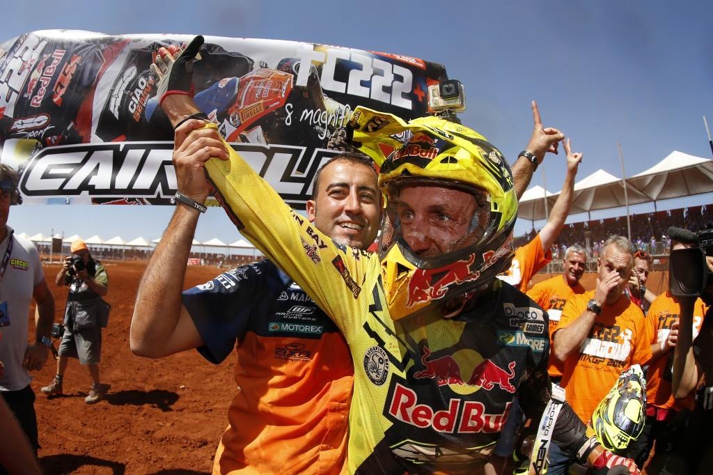 MX 2014: Tony Cairoli, titolo numero 8 per lui e KTM