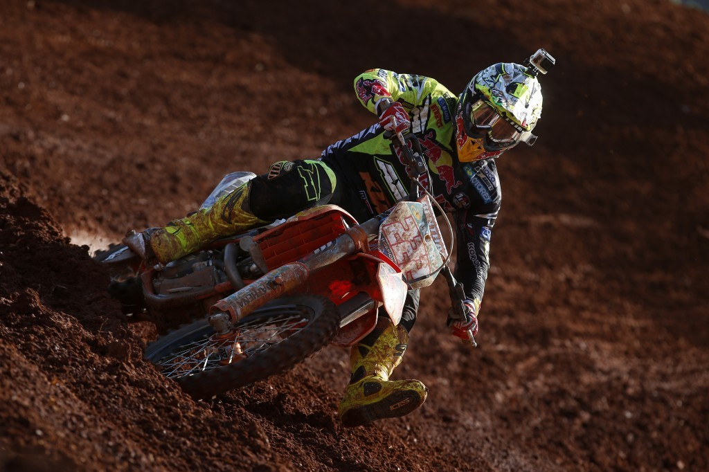 MX 2014: Tony Cairoli e la sua KTM in Brasile, pubblico entusiasta