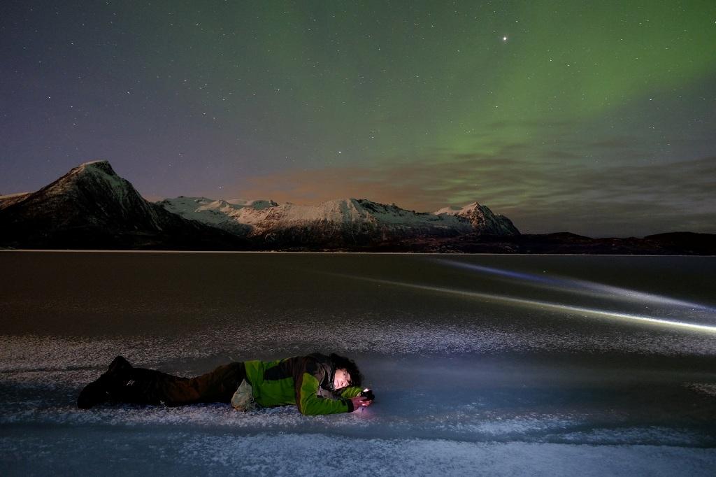 Luca Bracali e l'aurora boreale: uno spunto per i suoi workshop tematici
