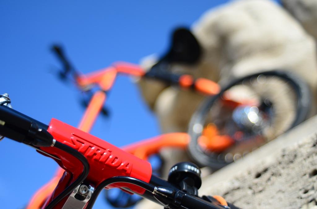 Strida 2014: Strida è una bici intermodale unica nel suo genere