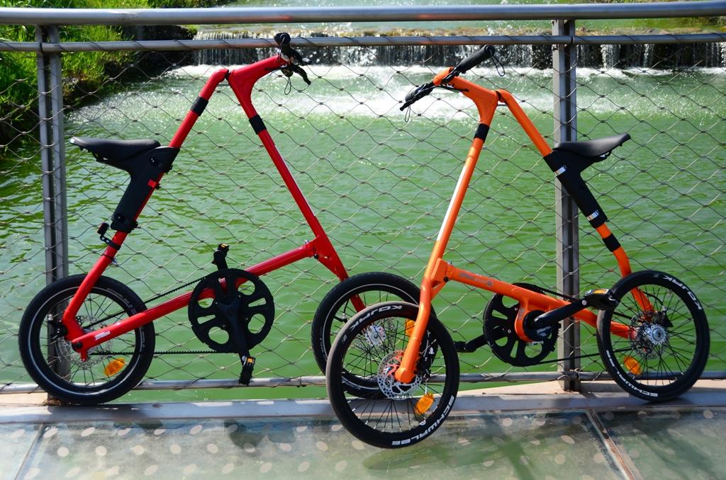 Strida 2014, Red Devil & Evo Orange3