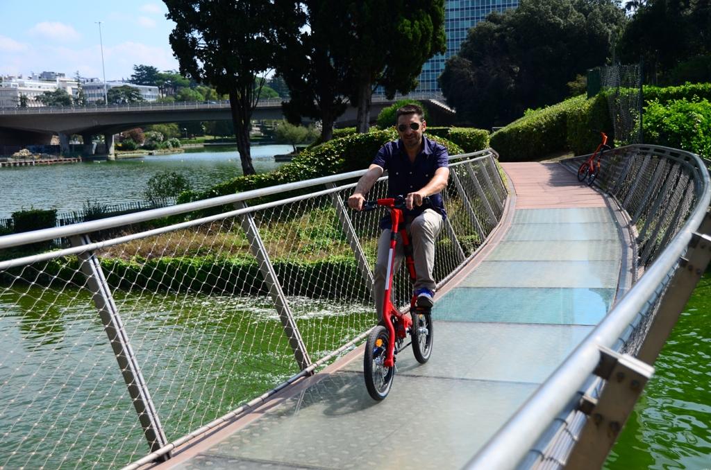 Strida 2014: bici da città, specie la Red Devil a rapporto fisso