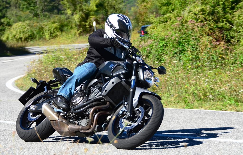Yamaha MT-07: una moto  sempre divertente per tutti