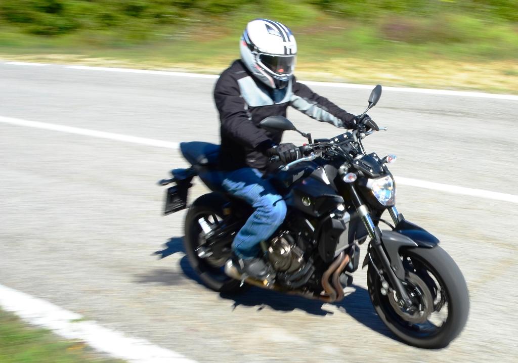 MT-07 Yamaha, godibile su ogni percorso, ogni giorno...