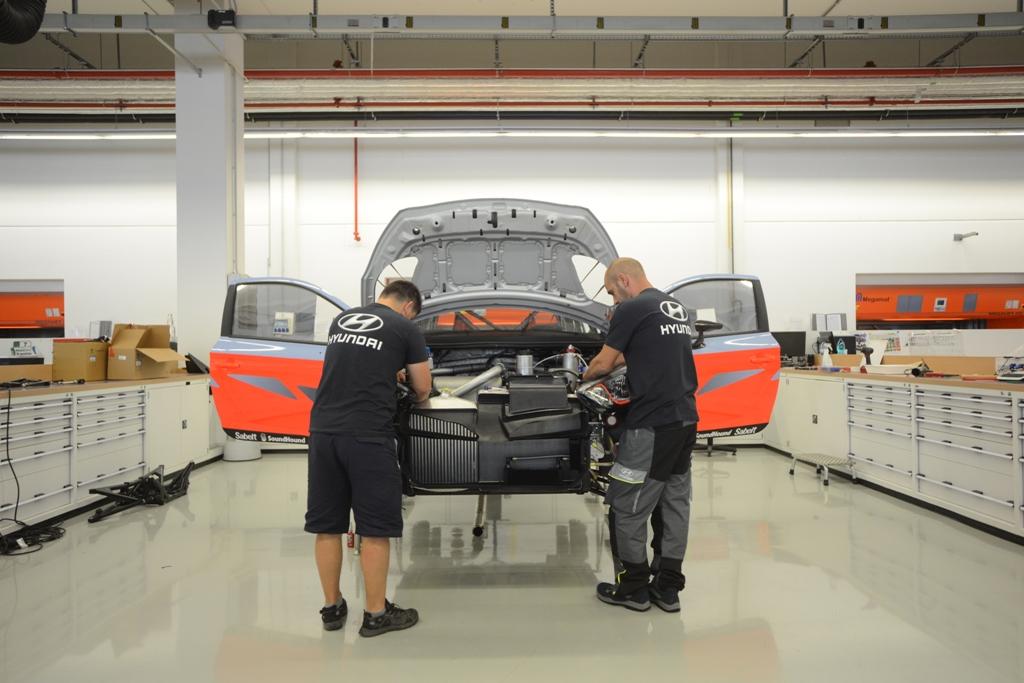 Hyundai WRC 2014, la factory dove nasce la i20 WRC
