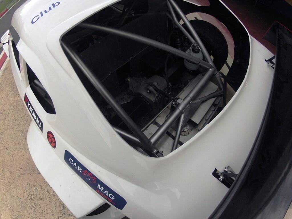 Mitjet 2014: vista posteriore del complesso rollbar della vettura