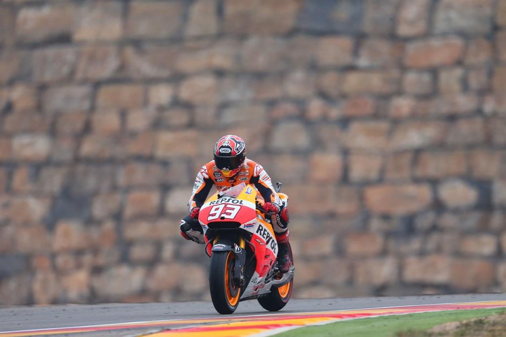 MotoGP 2014, Aragon: grave errore di strategia per Honda, Marquez e Pedrosa