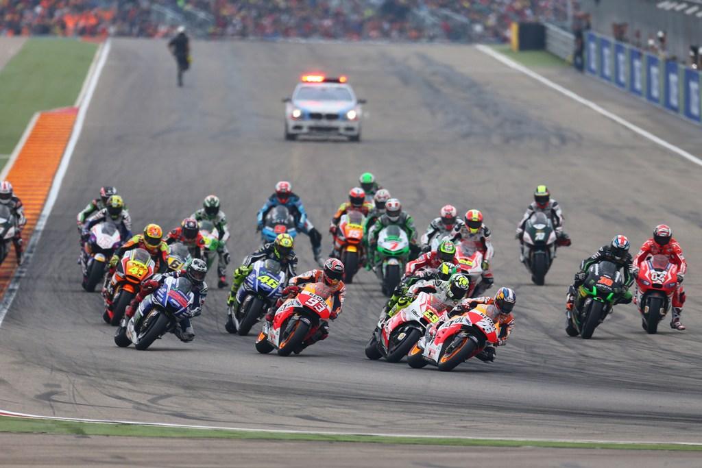 MotoGP, 2014: La partenza di Aragon 2014 MotoGP