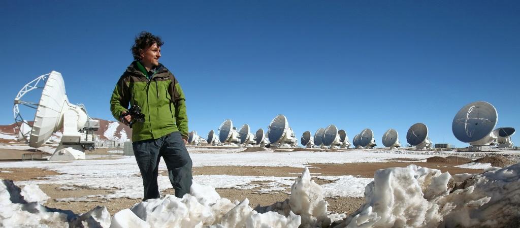 Luca Bracali e la più grande area di antenne del mondo puntate nell'universo