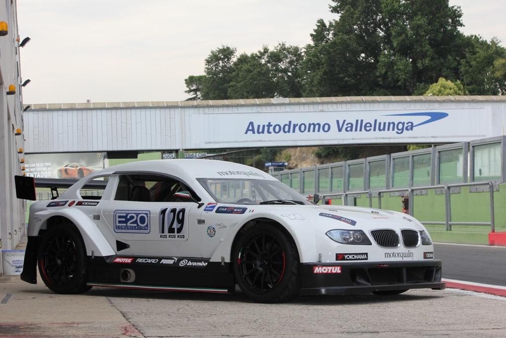 Mitjet 2014: la vettura del test a Vallelunga