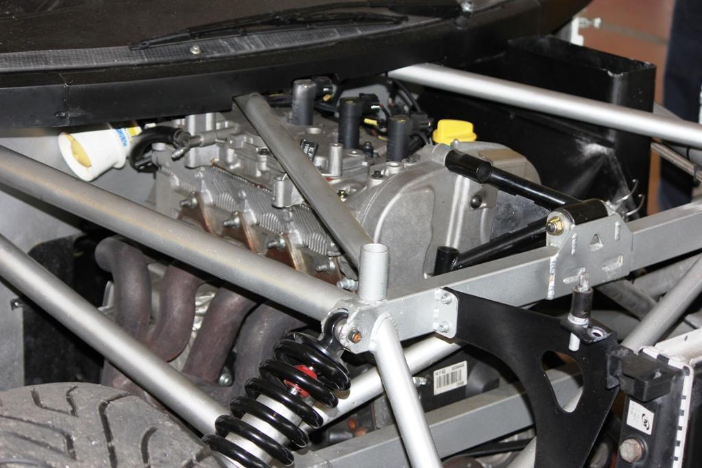 Mitjet 2014: il motore Renault ha una diversa centralina e gruppo di scarico