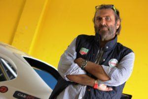Massimo Mancori, proprietario della Mitjet provata