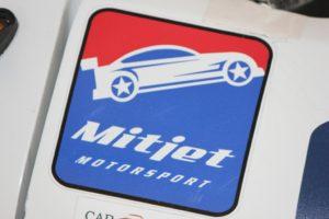 Mitjet 2014: il logo della vettura francese costruita da Poclain