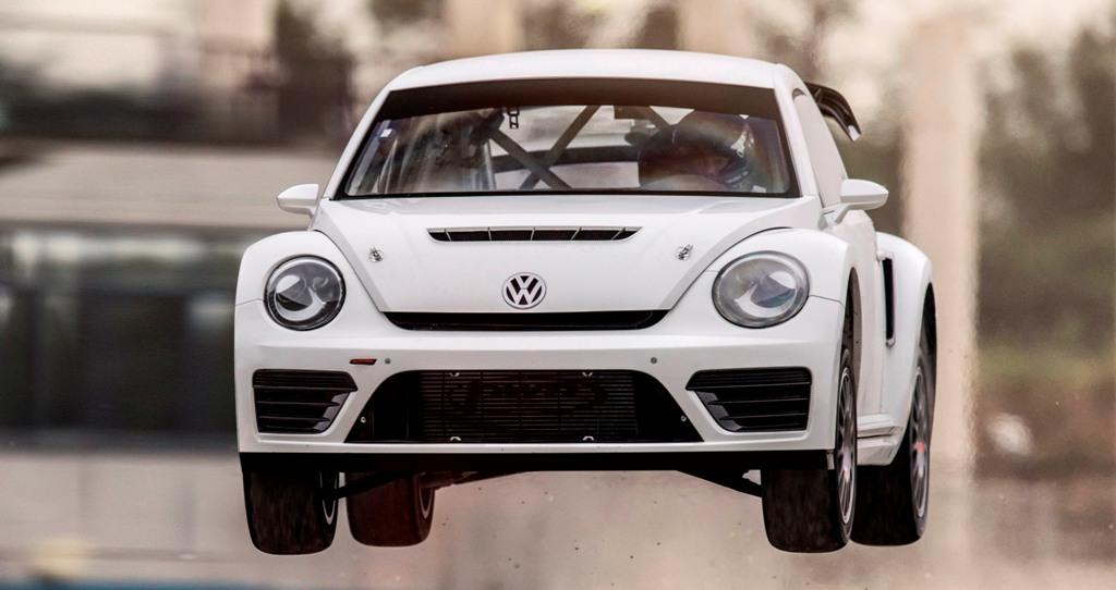 GRC 2014: La Bettle a trazione integrale VW portata in gara dal Team Andretti