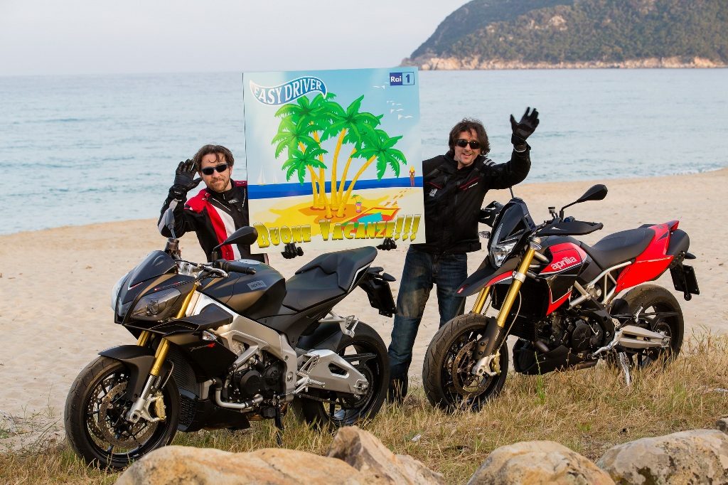 Rider instancabile Luca Bracali anche su due ruote