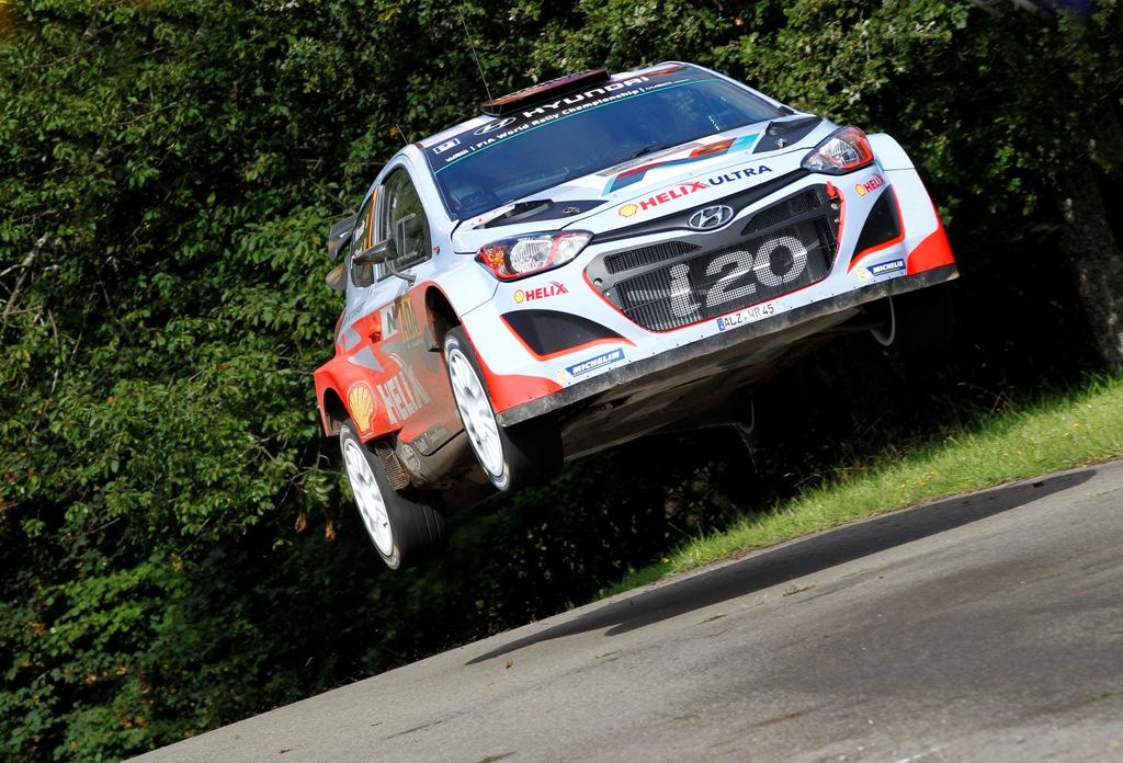 WRC 2014: Neuville e la i20 WRC, prima vittoria in Germania