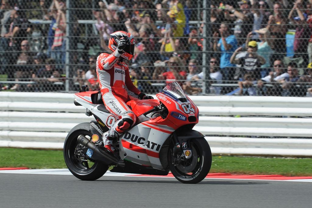 MotoGP 22014: Andrea Dovizioso, 5° a Silverstone