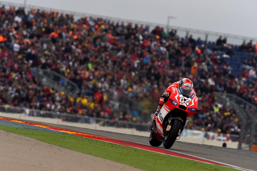 MotoGP 2014, Aragon, Ducati: Andrea Dovizioso poteva salire sul podio ma è caduto