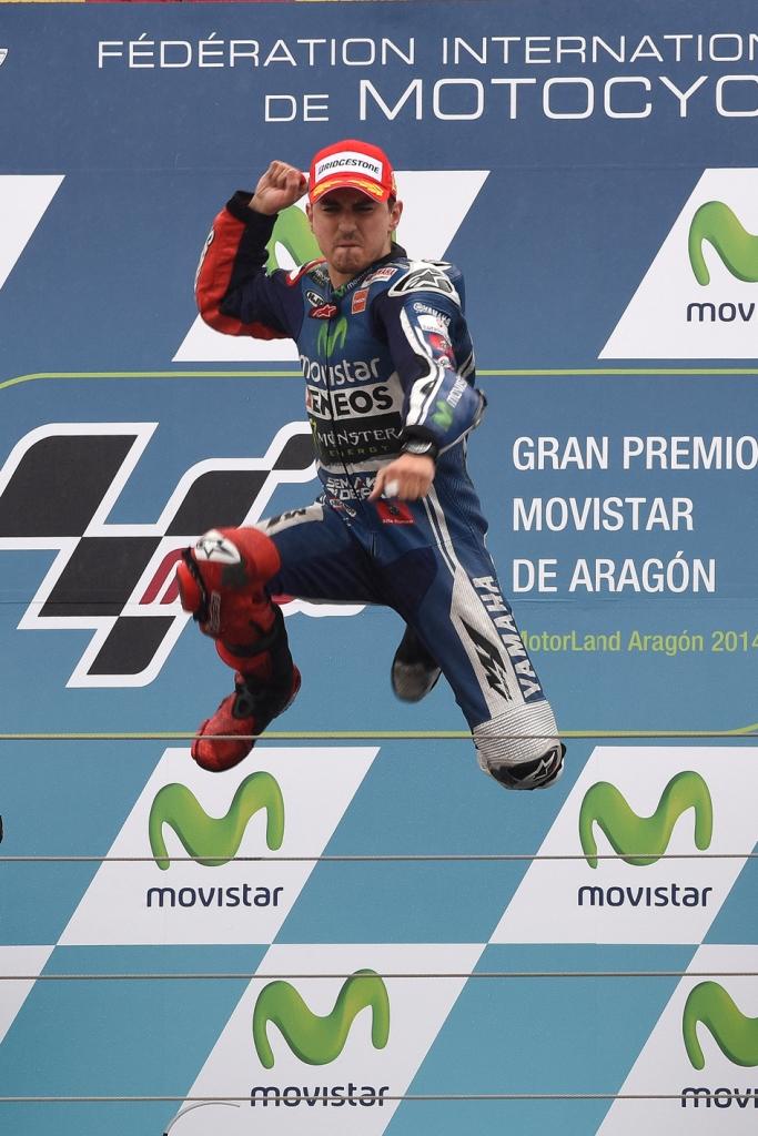 MotoGP, Aragon 2014: Jorge Lorenzo vince per la prima volta ad Aragon
