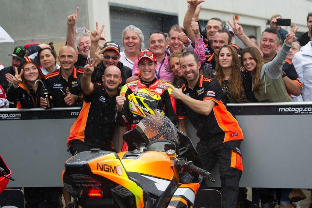 Aragon 2104, MotoGP: il primo podio in MotoGP per Aleix Espargaro