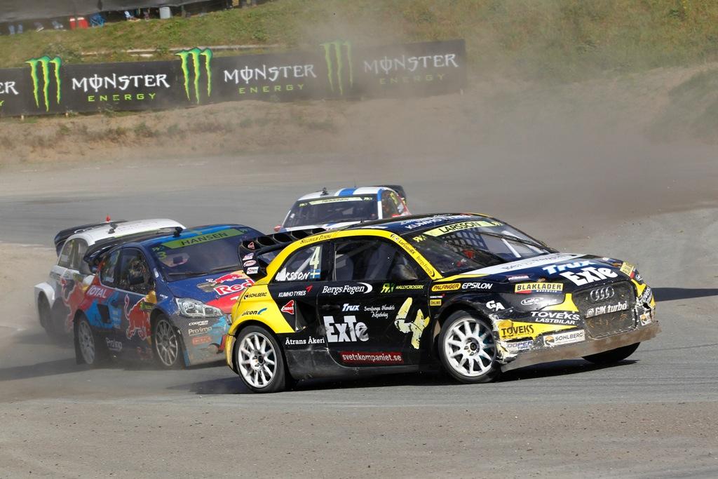 FIA Rallycross 2014: sempre tanto spettacolo in pista con le vetture RX