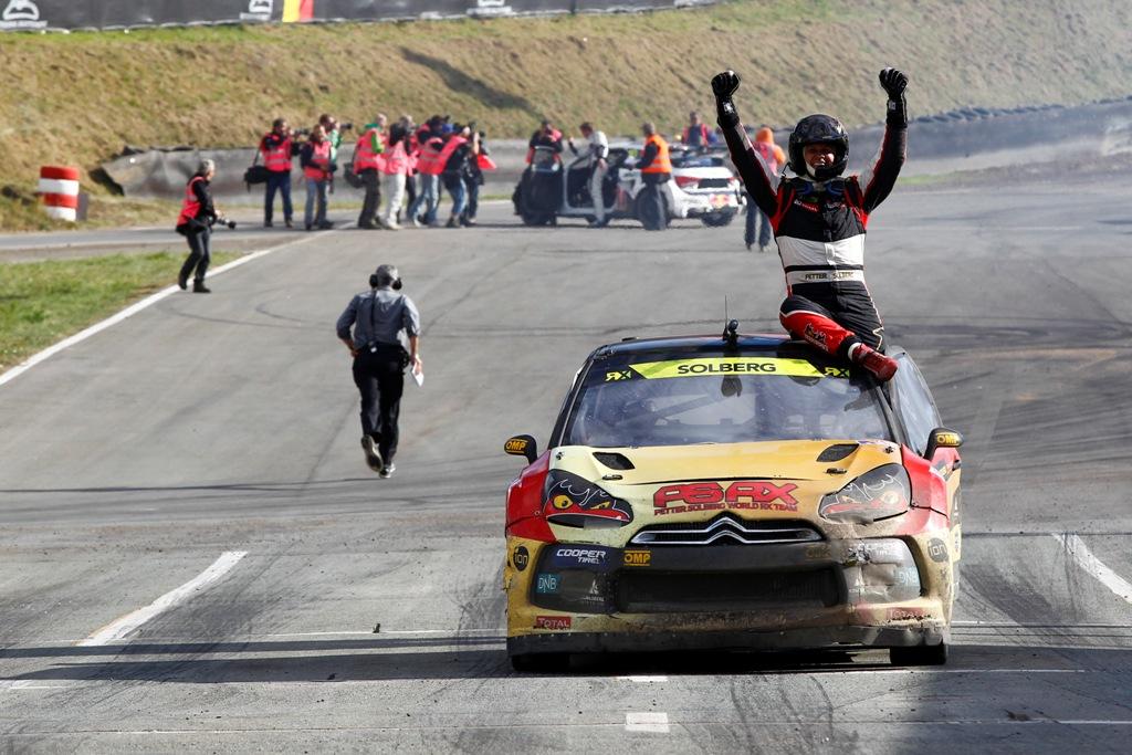 FIA Rallycross 2014: Soldberg vincitore del Round 9 in Germania