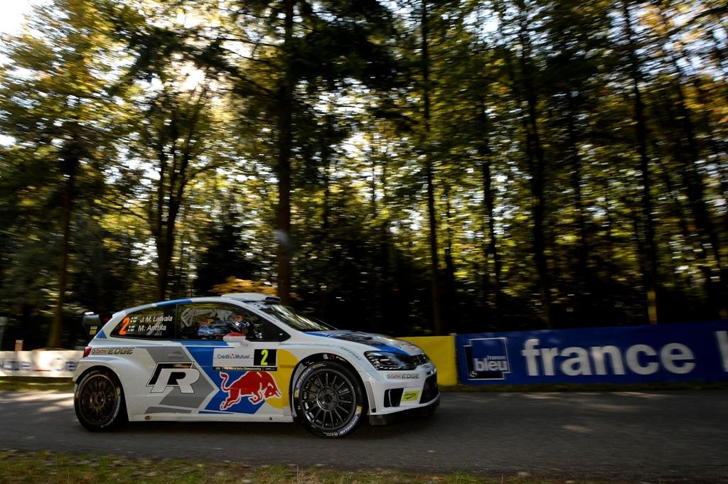 WRC 2014, Francia: Ogier e Ingrassia sfortunati in Francia ma hanno vinto la Power Stage